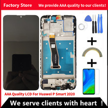 10-Touch AAA Qualität LCD Für Huawei P Smart 2020 LCD Mit Rahmen LCD Screen Display Für P Smart 2020 LCD Display Mit Rahmen
