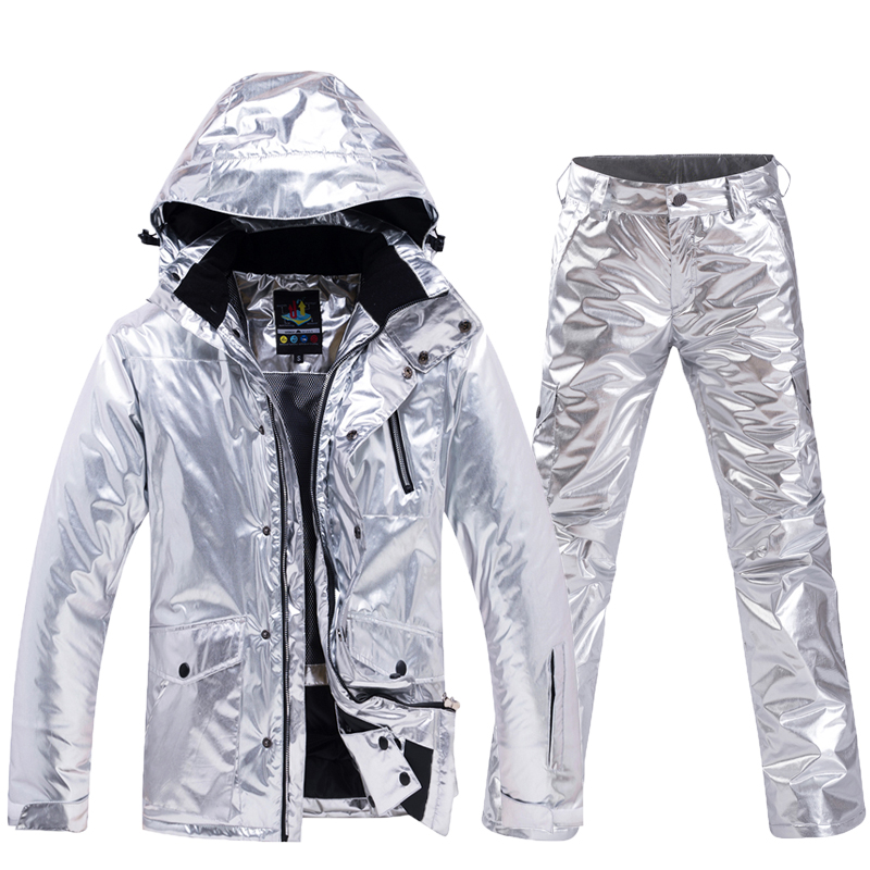 -30 Snowboarding Sets Men And Women Ski Suit Ski Jackets And Pants Very Warm Windproof Waterproof For Snow Street Winter Clothes
