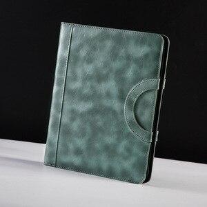 Image 5 - קלסר A4 קובץ תיקיית מסמכים ארגונית מנהל Padfolio Case עסקי משרד קבינט בעל רוכסן תיק יום אב מתנה