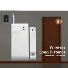 цена на 433MHz Wireless Window Door Sensor Detector For H6 Home Wireless Alarm System