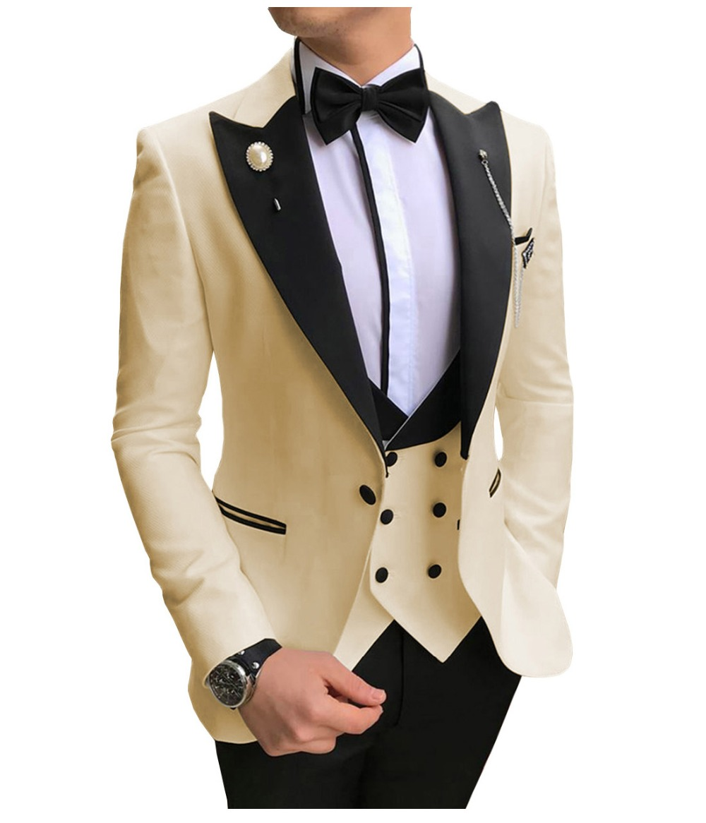 Men-Suits-3-Pieces-Slim-Fit-Business-Suits-Groom-Champagne-Noble-Grey-White-Tuxedos-for-Formal (3)