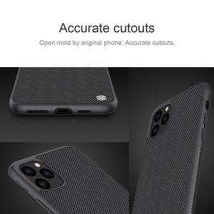 Image 2 - For iPhone 11 Pro Max iPhone X XS XR XS Max Case NILLKIN Textured Nylon Fiber Case Durable Non slip Back Cover for iPhone 11 Pro