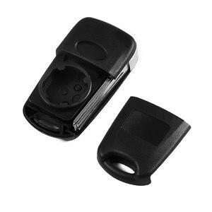 Image 4 - רכב להחליף Flip מפתח מעטפת להב כיסוי 3 לחצנים מתקפלים Fit לקאיה רונדו עבור Sportage נשמת ריו מרחוק מקרה שחור רכב מחרוזת