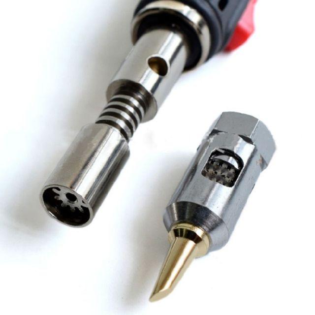 Nuovo a forma di Penna di Saldatura A Gas di Ferro HT 1937 Ferro Leggero e Pratico con Interruttore di Saldatura A Gas Penna qiang