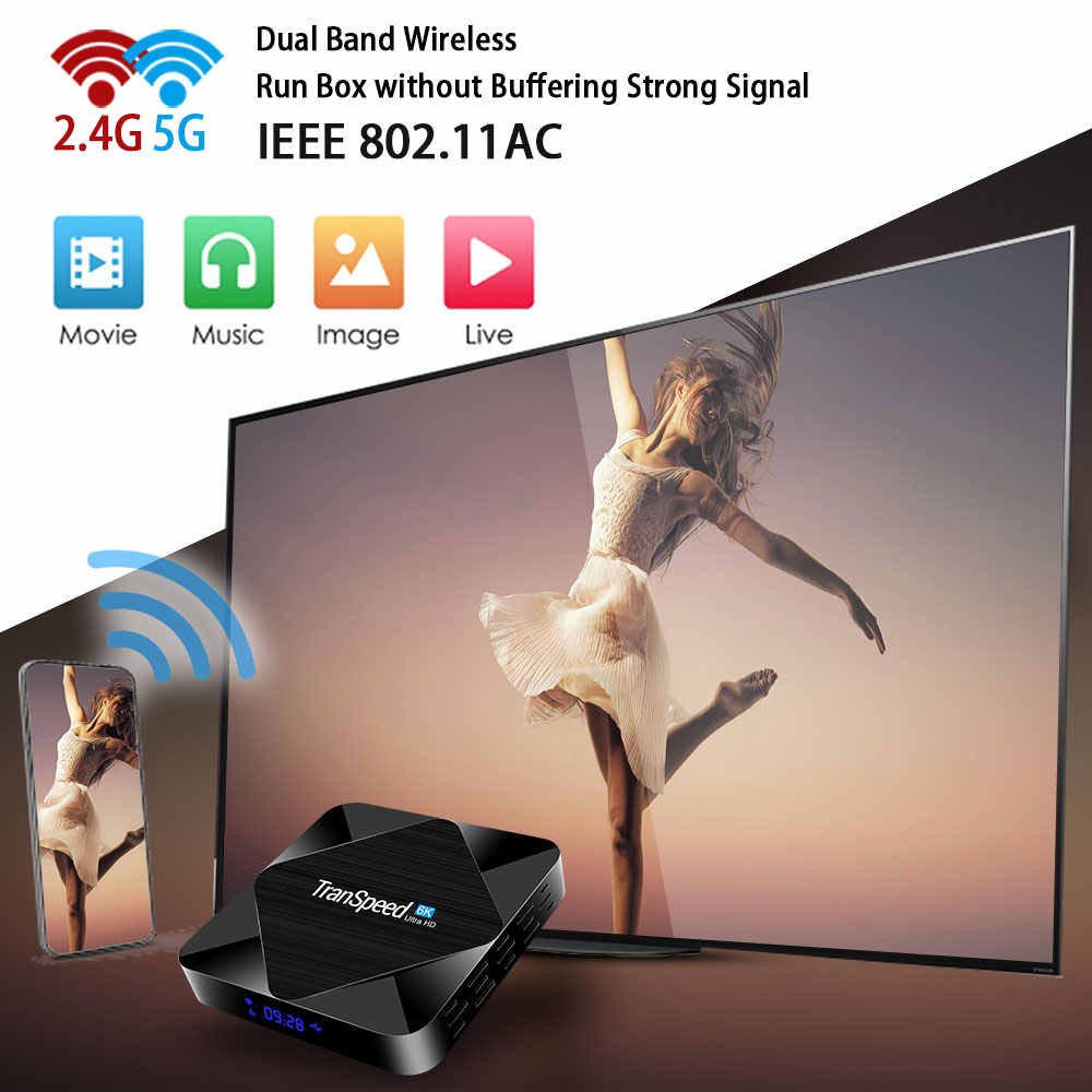 2020 Android 10.0 TV Box 2.4G & 5.8G Wifi Cepat 6K 4K Google Asisten H616 Quad core 16GB 32GB 64GB Media Player Set Top TV Box