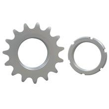 TRUYOU Bike Fixed Gear Bicycle Freewheel Cogs Hub Locking 1 Speed 13T 14T 15T 16T 17T 18T 19T Wheel Track Flywheel Steel