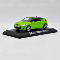 Fine original 1:38 Hyundai VELOSTER alloy model,simulation die cast metal car model,collection of gift ornaments,free shipping