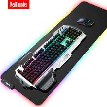 RedThunder mécanique K900, clavier Gaming RGB, housse métallique multilingue, russe, espagnol, français, pour tablette de bureau