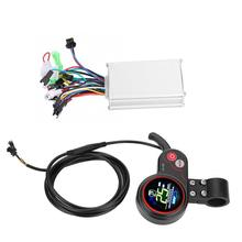 24V 36V 48V 60V Elektrische Fiets Scooter Borstelloze Controller Lcd Display Bedieningspaneel Met Shift Schakelaar controller Display