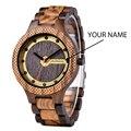 BOBO BIRD деревянные мужские часы выгравировать ваше имя Роскошные Кварцевые часы Подарки для папы и мужчин reloj hombre доступен дропшиппинг