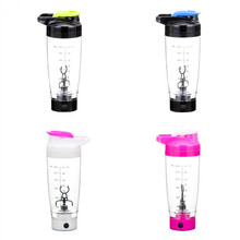 цена 600ml Electric Automation Protein Shaker Blender Water Bottle Automatic Movement Coffee Milk Smart Mixer Drinkware For Home онлайн в 2017 году