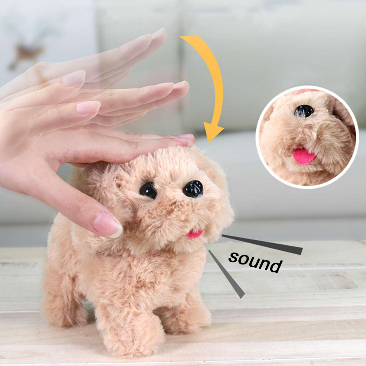 7 Types Robot Dog Electronic Dog Plush Puppy Jump Wag Tail Leash Teddy Toys Walk Bark Funny Toys For Children Birthday Gift