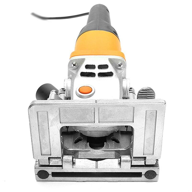 1 Pza nueva 230V 760W tenonadora para madera máquina de Joiner de galletas de madera ranuradora de madera para tarjeta de conexión