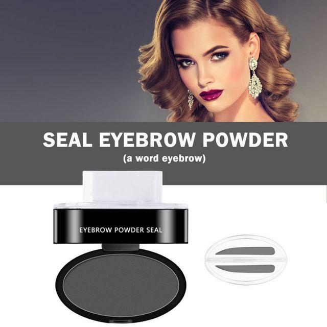 Girl Lazy Thrush Seal No Blooming Eyebrow Thrush Eyebrow Powder Eyebrow Powder Eyebrow Word Thrush Seal 1