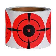 125 шт/рулон брызги мишени стрельба упражнения наклейки Набор 7,5 см стрельба наклейки мишень стрельба принадлежности для обучения