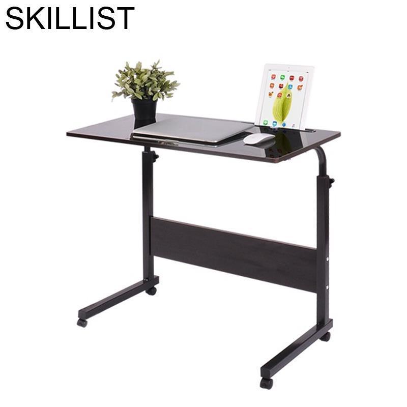 Escrivaninha маленькая портативная кровать для ноутбука, регулируемая подставка для ноутбука, компьютерный стол