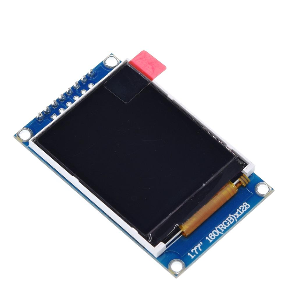 Image 2 - Tzt 1.77 インチ tft 液晶画面 128*160 1.77 tftspi tft  カラースクリーンモジュールシリアルポートモジュール    グループ上の 電子部品
