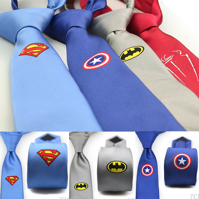 Captain American Comic Hero Neck Tie Party Cosplay Costumes Accessories Gift