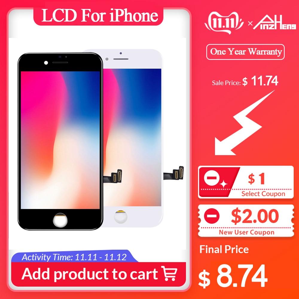 AAAA Original Bildschirm LCD Für iPhone 5 6 6s 7 8 Plus LCD Display Montage Digitizer Keine Tote Pixel mit 3D Touch Ersatz LCD