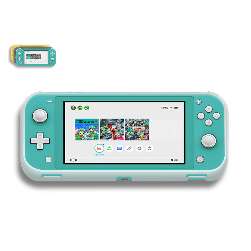 TPU Grip Game Protective Case Shell Cover For Nintend Switch Lite Protection Console Controller Silicone Protective Cover
