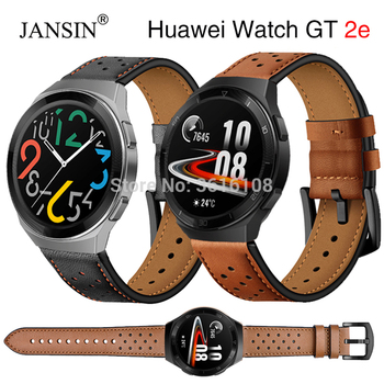 Leather Wrist Strap For Huawei watch gt 2e strap Replacement Bracelet gt 2e Watchband For Huawei Watch GT 2e 46mm Watch Straps