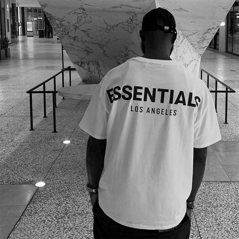 2020 wesentliche Lose 3M Reflektierende T-shirt Männer damen Casual Hohe Qualität Wesentliche Rundhals T-Shirt
