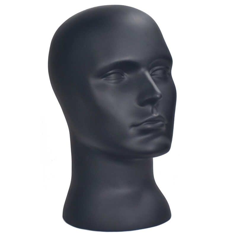 Gorąca sprzedaż pcv mężczyzna manekin manekin kapelusz okulary głowa model włosów peruki okulary kapelusze chusty szalik stojak pokaż
