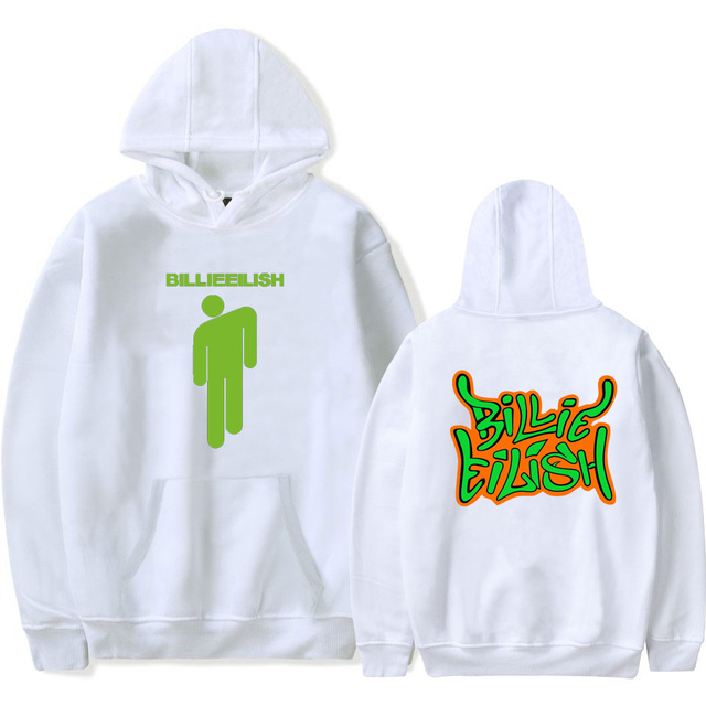BILLIE EILISH THEMED HOODIE (12 VARIAN)