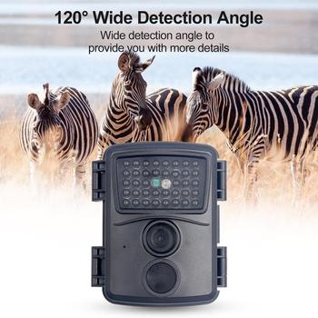 PR600 Hunting Camera 12MP 38 IR LED 3MP Color CMOS FHD 1080P Night Vision 0.8s Trigger Time Wildlife Cameras IP54 Waterproof New 4