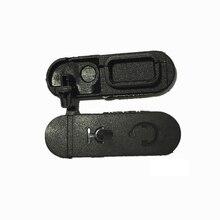 1 adet yeni kulaklık toz için slayt kapak Motorola XIR P3688 DEP450 DP1400 CP200d iki yönlü radyo Walkie Talkie aksesuarları