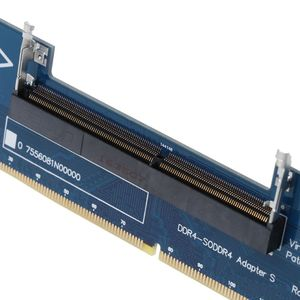 Image 5 - แล็ปท็อป DDR4 SO DIMM เดสก์ท็อป DIMM หน่วยความจำ RAM Connector อะแดปเตอร์เดสก์ท็อป PC การ์ดหน่วยความจำแปลงอะแดปเตอร์