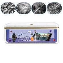 UV Sterilizer Box Esterilizador Dry Manicure Sterilization UVC Ozone Disinfection Box Beauty Salon Equipment Sterilizing Tools