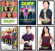The DUFF Movie Home Decorative Painting White Kraft Paper Poster 42X30cm