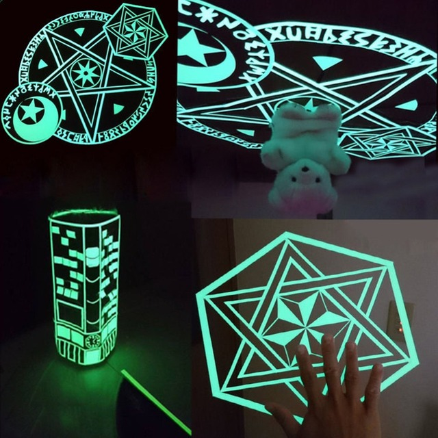 2cm*3m Luminous Fluorescent Night Self-adhesive Glow In The Dark Sticker Tape Safety Security Home Decoration Warning Tape 2