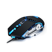 цена на Gaming Mouse Mechanical Feel Adjustable 3200DPI LED Color Wired USB Mice For PC Laptop Professional Gamer
