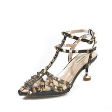 Обувь на высоком каблуке; Женская обувь тонком Коллекция 2020