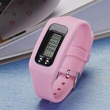 Популярный цифровой ЖК-шагомер, шаговый счетчик калорий, браслет для спортивных часов MVI-ing