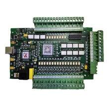 Mach3 cartão de controlador usb 3 eixos 4 controlador movimento interface usb máquina gravura e placa corte versão atualização