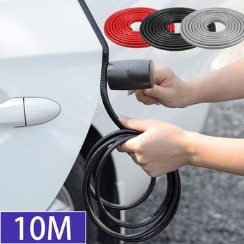 цена на 10m Car Door Anti Scratch Protector Strips Auto Sealing Guard Trim Automobile Door Edge Stickers Decorative Protector Seal Strip