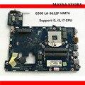 Высококачественная материнская плата для ноутбука Lenovo G500 VIWGP/GR  чипсет HM76 с поддержкой i3  i5  i7  processo  DDR3  100% тестирование