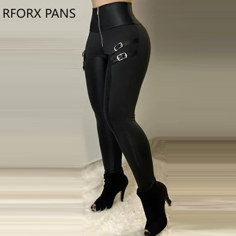 Застежка-молния дизайн с высокой талией, повседневные узкие брюки для женщин брюки для девочек модные брюки для девочек