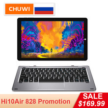CHUWI Оригинальный Hi10 Air планшет Windows10 Intel Cherry Trail-T3 Z8350 Quad Core 4GB RAM 64GB ROM 10,1 дюймов Type-C 2 in 1 планшет(China)