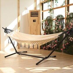 Hamaca soporte familia adultos shaker silla exterior columpio interior doble dormitorio