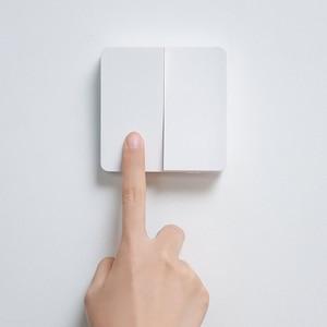 Image 5 - Originale Xiaomi Norma Mijia Smart Switch Interruttore A Parete Singola Doppia Tre Doppio interruttore di Comando Aperto 2 Modalità Lampada Intelligente Interruttori Della Luce
