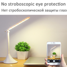 цена на 2019 New Touch 3 Level Dimmable Led Table Lamp USB Folding Desk Lamp Study Lamps Desktop LED Light Table Lamp Eye Protection