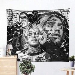 Настенный Гобелен Lil Rapper Peep, 3D печать, художественные украшения для спальни, Tapiz 95x7, 3 см/150x10, 0 см/150x13 см/200x150 см