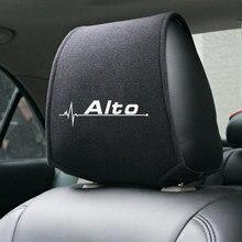Estilo do carro para suzuki alto acessórios do carro-estilo do carro quente encosto de cabeça capa 1pcs
