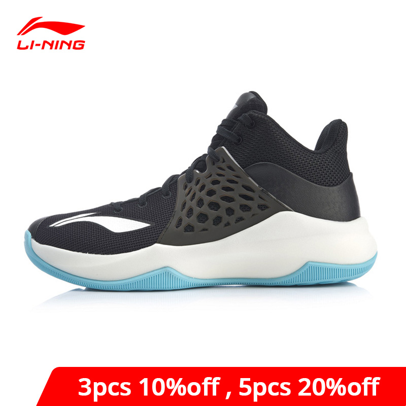 Li-Ning Men SONIC TD On Court Basketball Shoes LIGHT FOAM Breathable Support LiNing Li Ning Sport Shoes Sneakers ABPP029 XYL249