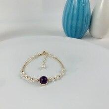Handmade Natural Pearl Beads Bracelet Women Fashion Bijoux Fait Main Kid Gift Tenes Feminino Pulcera oro Mujer Acessorios Mulher