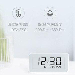 Image 3 - Xiaomi reloj eléctrico inteligente inalámbrico Mijia BT4.0, Digital, termómetro de interior e higrómetro de exterior, herramientas de medición de temperatura LCD
